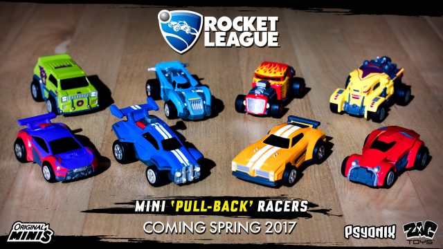 Psyonix And Zag Toys Announce New Range Of Rocket League Toys