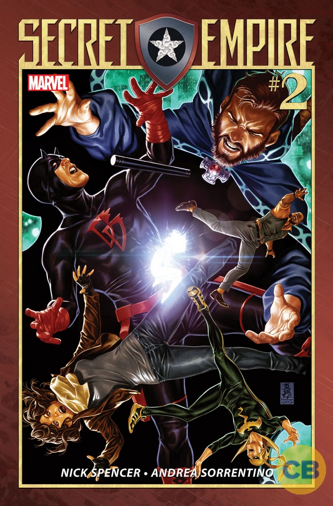 New Secret Empire Covers And Solicits Bring More Details To Light