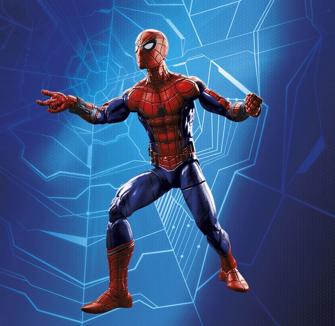 Spider-Man: Homecoming Action Figures Reveal Spidey's Suits And A New Iron Man Armor