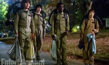 The Kids Get Ready For Halloween In New Stranger Things Season 2 Photo