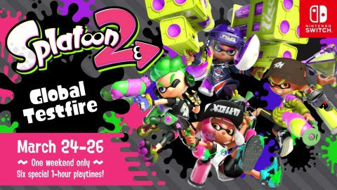 Splatoon 2 Global Testfire To Go Live In Late March