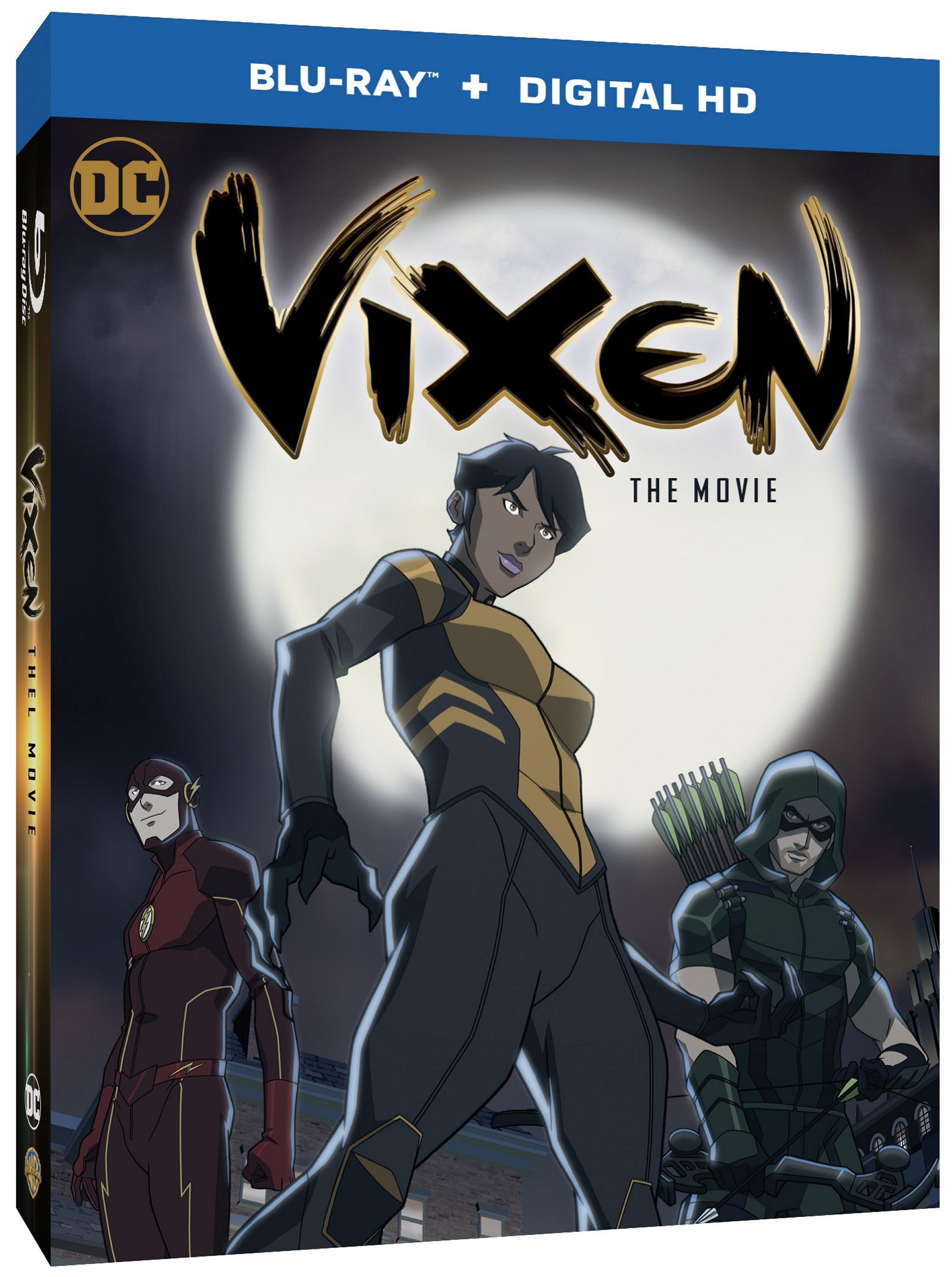 Vixen: The Movie Blu-Ray Cover Art And Release Date Revealed