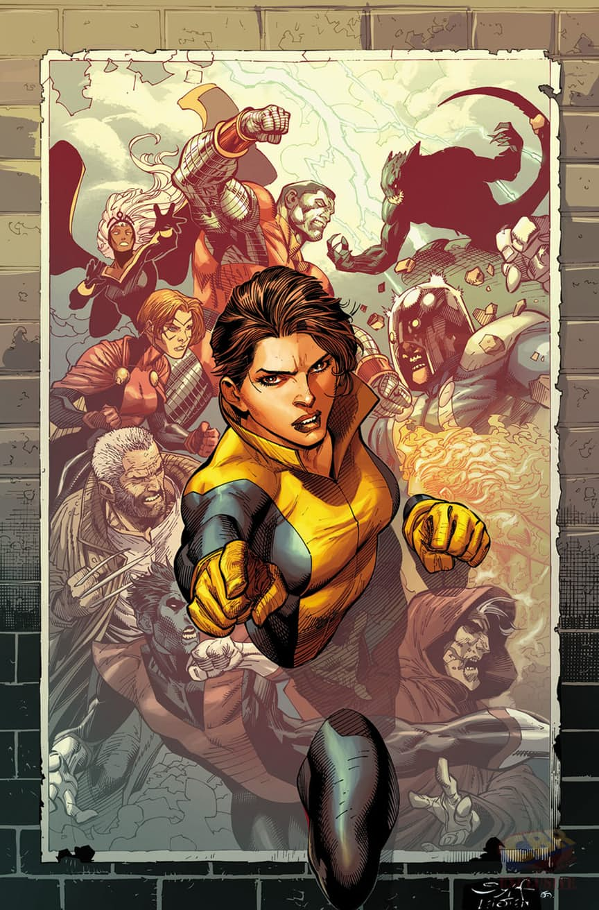 Gambit And Kitty Pryde Adorn Upcoming X-Men Gold Covers