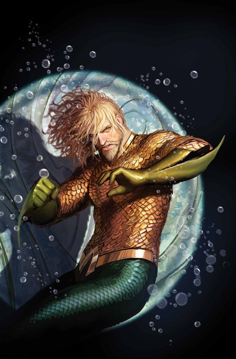 Aquaman Is Slowly Starting To Look More Like Jason Momoa In The Comics