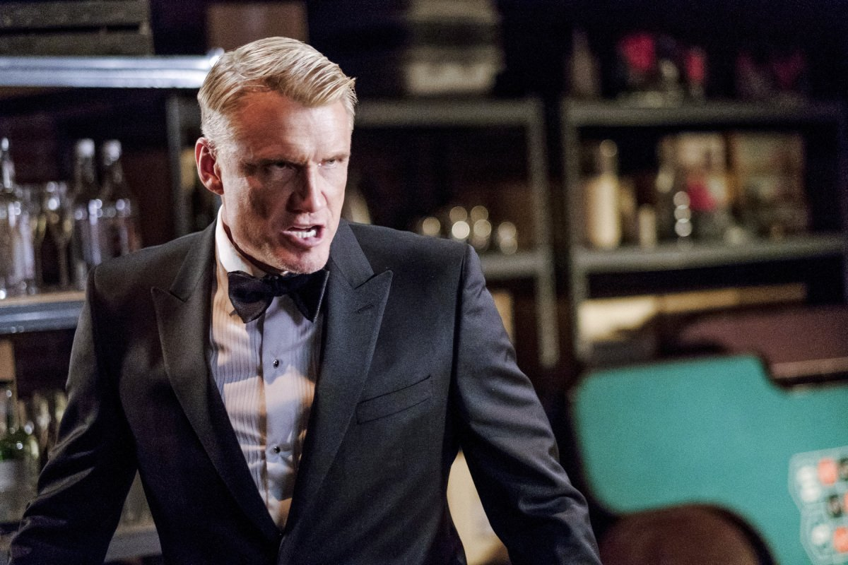 Dolph Lundgren Returns In New Arrow Images