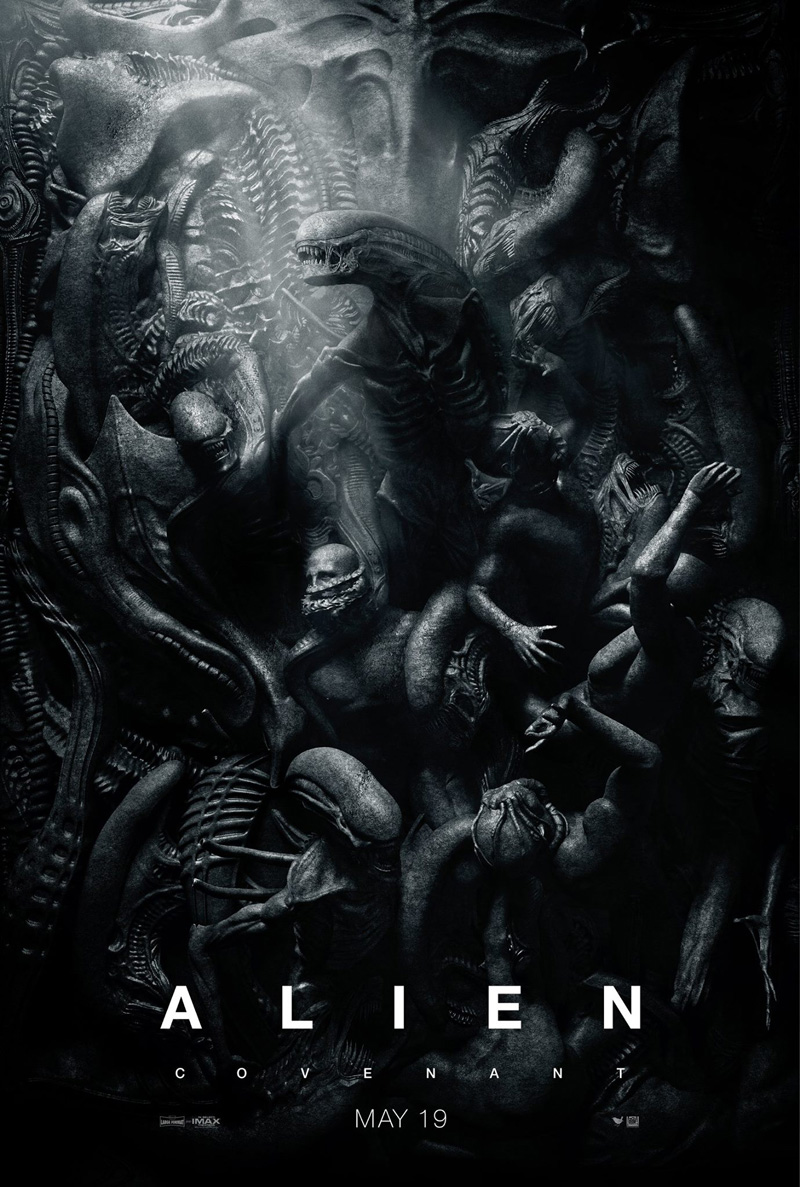 New Poster For Alien: Covenant Finds Beauty In The Beast
