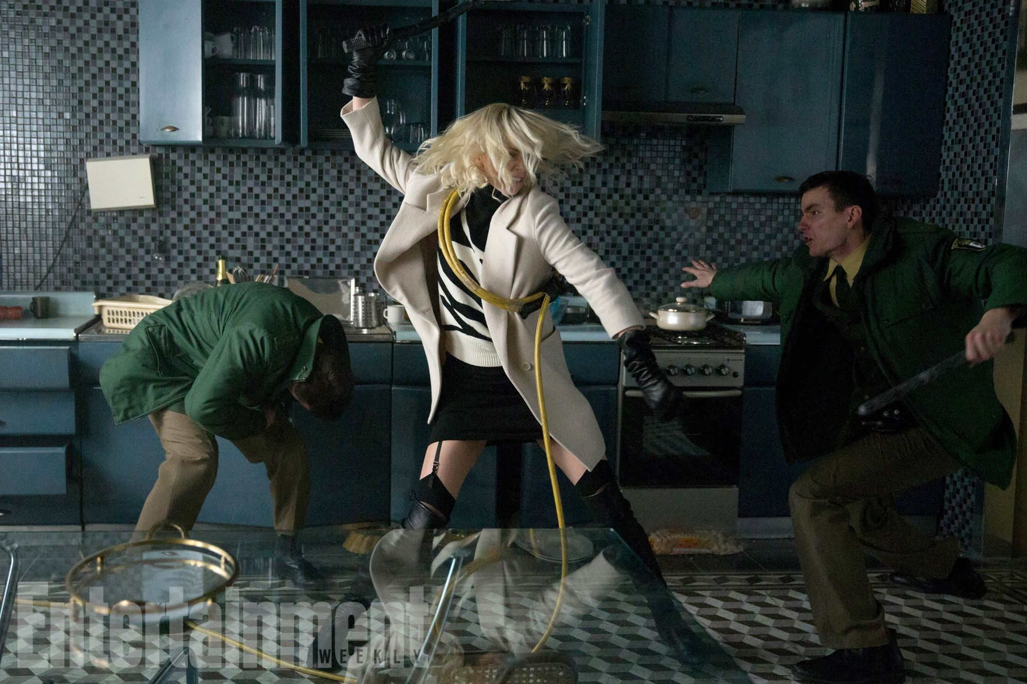 First Look At Atomic Blonde Unveils Charlize Theron As A Cunning Master Spy