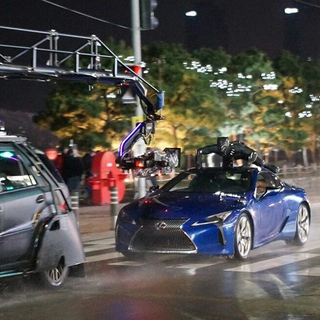 Take A Peek At Black Panther's South Korea Chase Sequence With These Set Videos