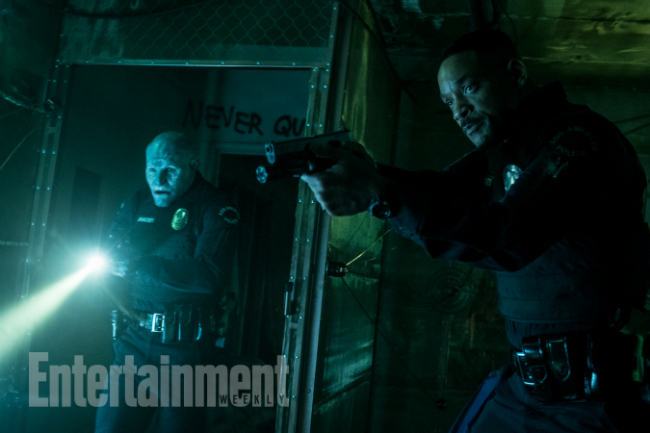 Bright Images Tease A Fantastical New World As Will Smith Bigs Up Film's Timely Social Commentary