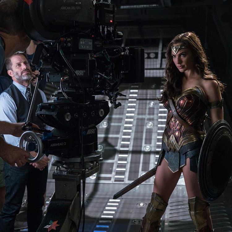 Gal Gadot Shares New Justice League BTS Shot For Zack Snyder's Birthday