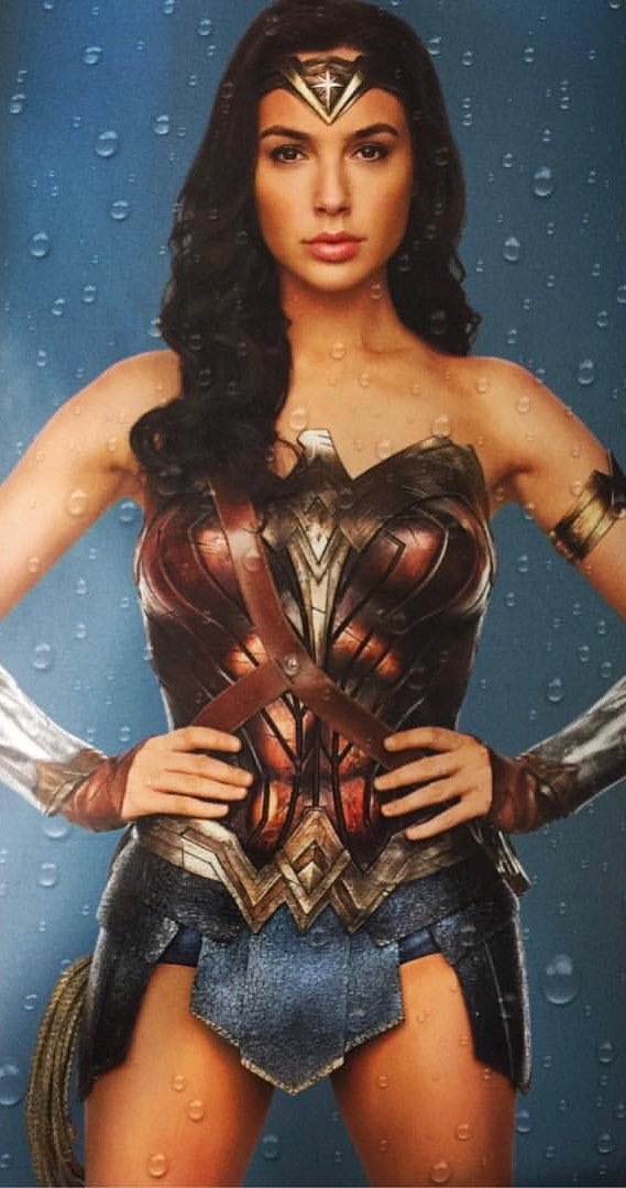 Gal Gadot Strikes Some Iconic Poses In These New Wonder Woman Promo Images