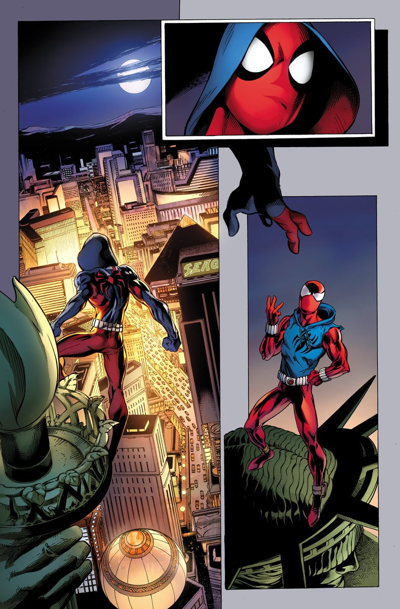 There's More Than One Spider-Man In This Ben Reilly: The Scarlet Spider #1 Preview