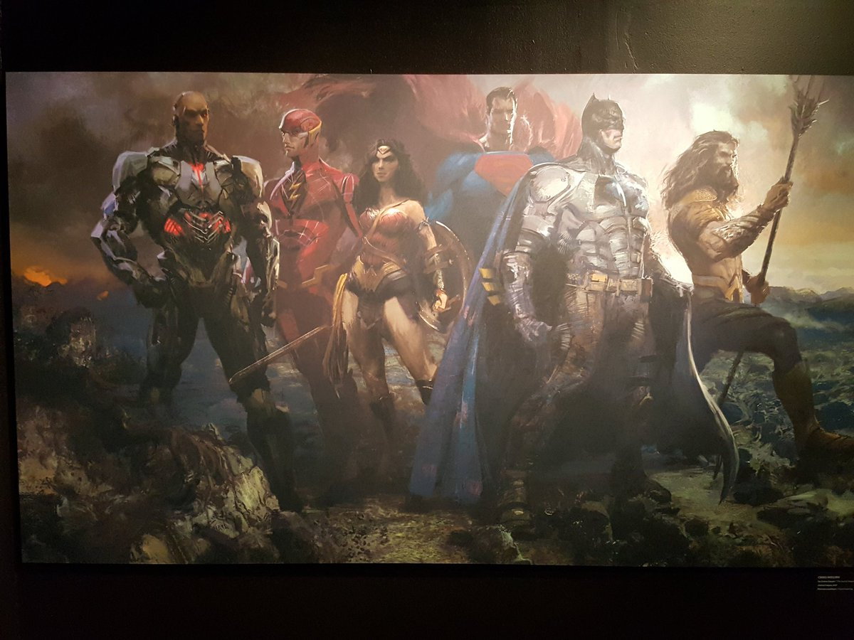 Justice League Concept Art Reveals Superman, CinemaCon Footage Description Arrives