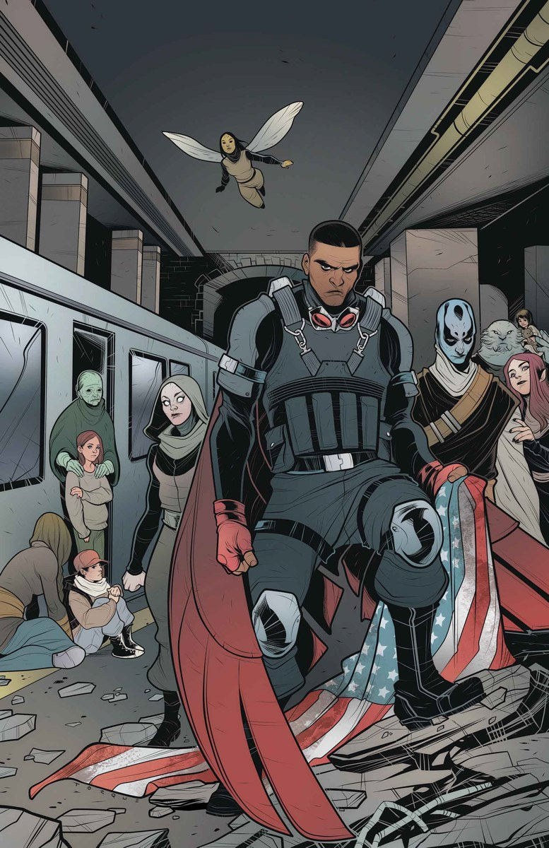 It Appears As If Sam Wilson Will Return To Being The Falcon During Secret Empire