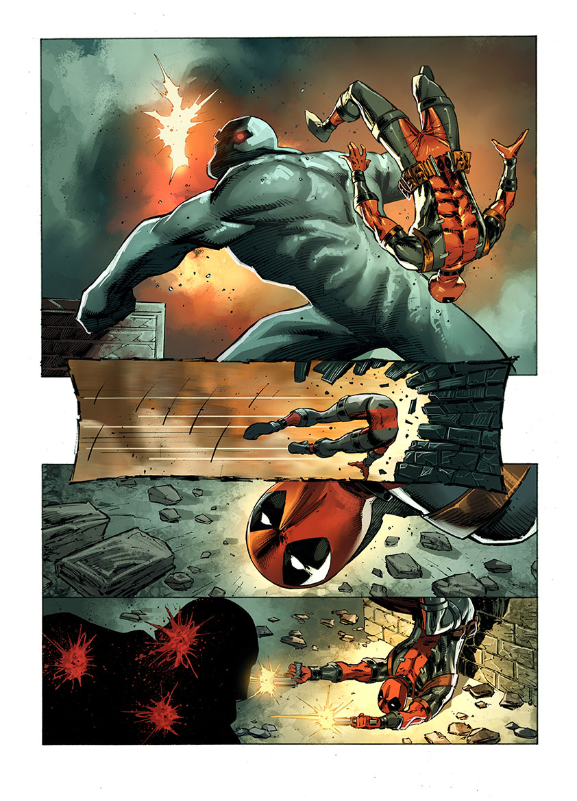 Marvel Offers First Look Inside Deadpool: Bad Blood
