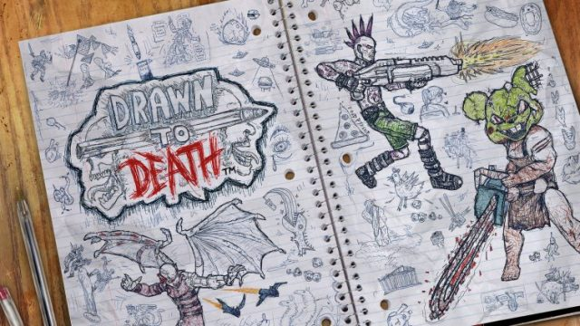 Super-Stylish Shooter Drawn To Death Will Launch As Part Of April's PlayStation Plus Lineup
