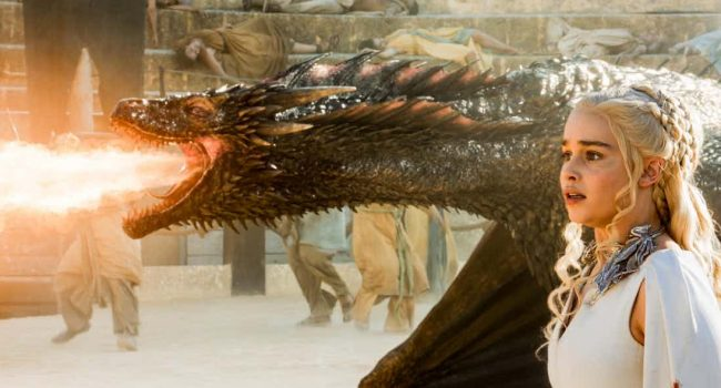 Daenerys' Dragons Are Growing Up Fast In Anticipation Of Game Of Thrones Season 7