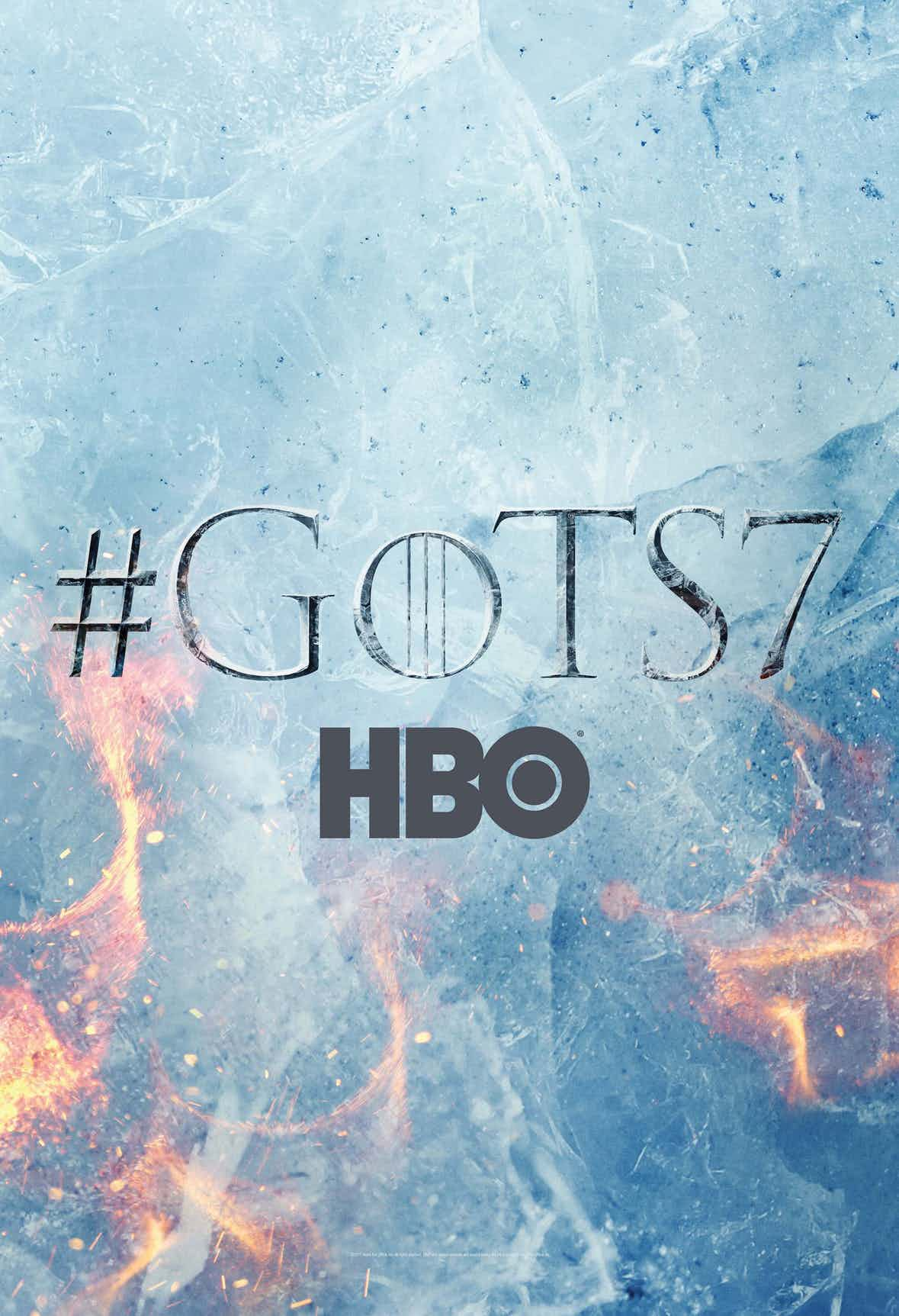 Game Of Thrones Season 7 Poster Is Kissed By Fire (And Ice!)