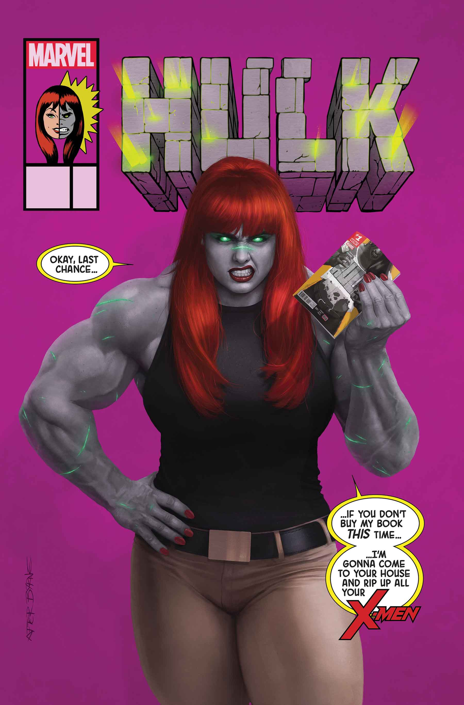Mary Jane Watson Is Transformed Into A Variety Of Marvel Heroes On New Variant Covers