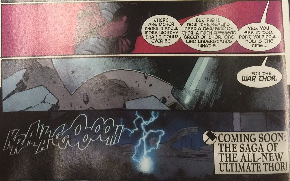 The Unworthy Thor #5 Features A Shocking Twist No One Will See Coming