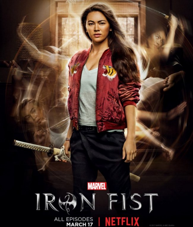 Colleen Wing Flaunts Her Martial Arts Skills In Latest Iron Fist Character Poster