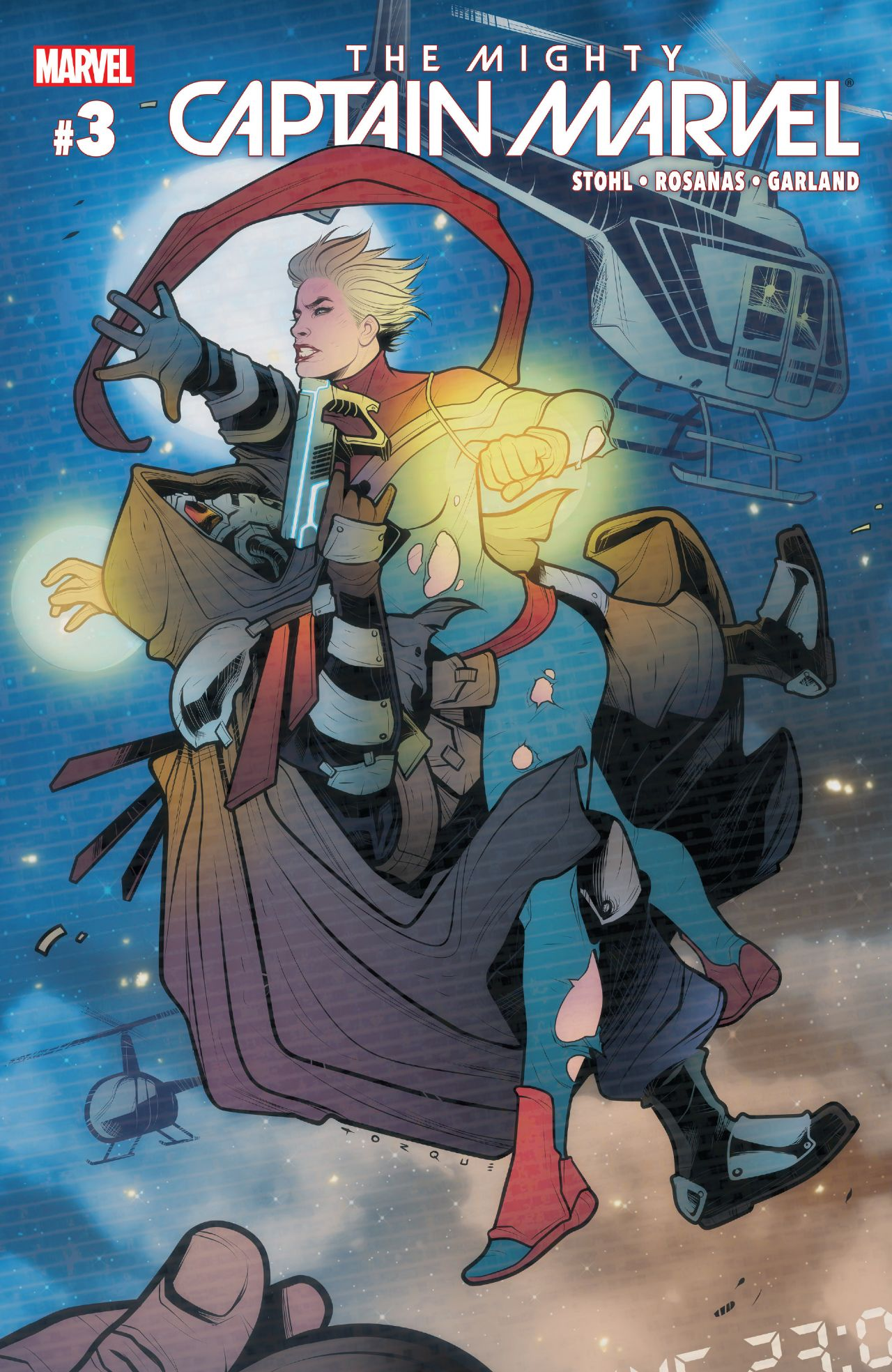 "New ""Alien Nation"" Video Celebrates Release Of The Mighty Captain Marvel #3"