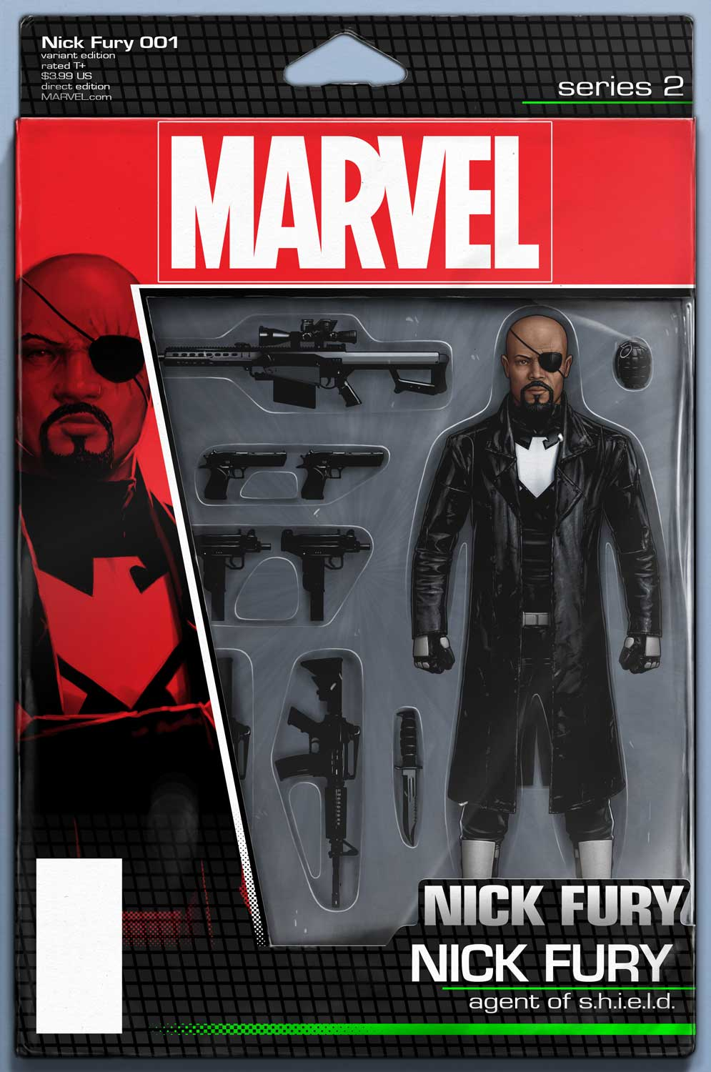The Mission Begins With Nick Fury #1
