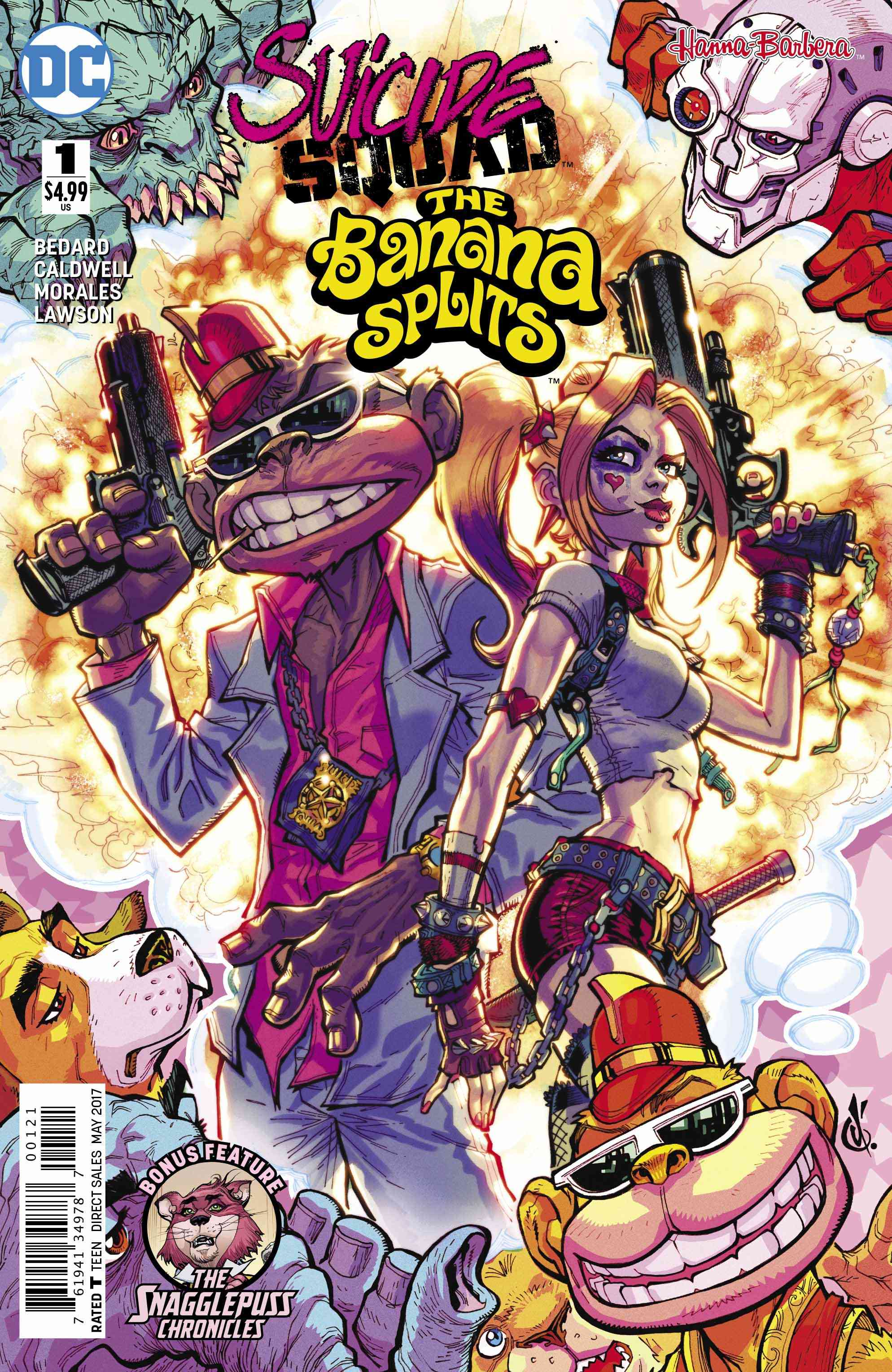 Suicide Squad/Banana Splits #1 Review