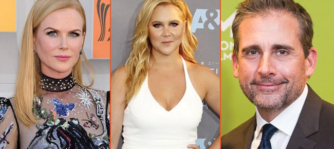 Sweeping Dramedy She Came To Me Casts Steve Carell, Amy Schumer And Nicole Kidman