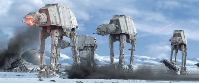 Latest Rumor For Star Wars: The Last Jedi Points To Radically Different AT-AT Walkers; Gary Barlow To Cameo