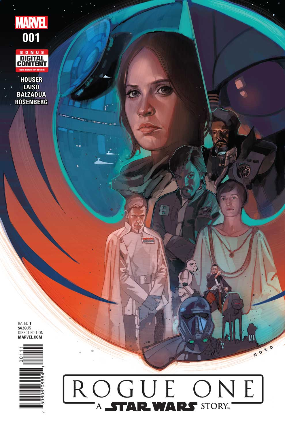 Marvel Releases First Look At Rogue One: A Star Wars Story Adaptation #1