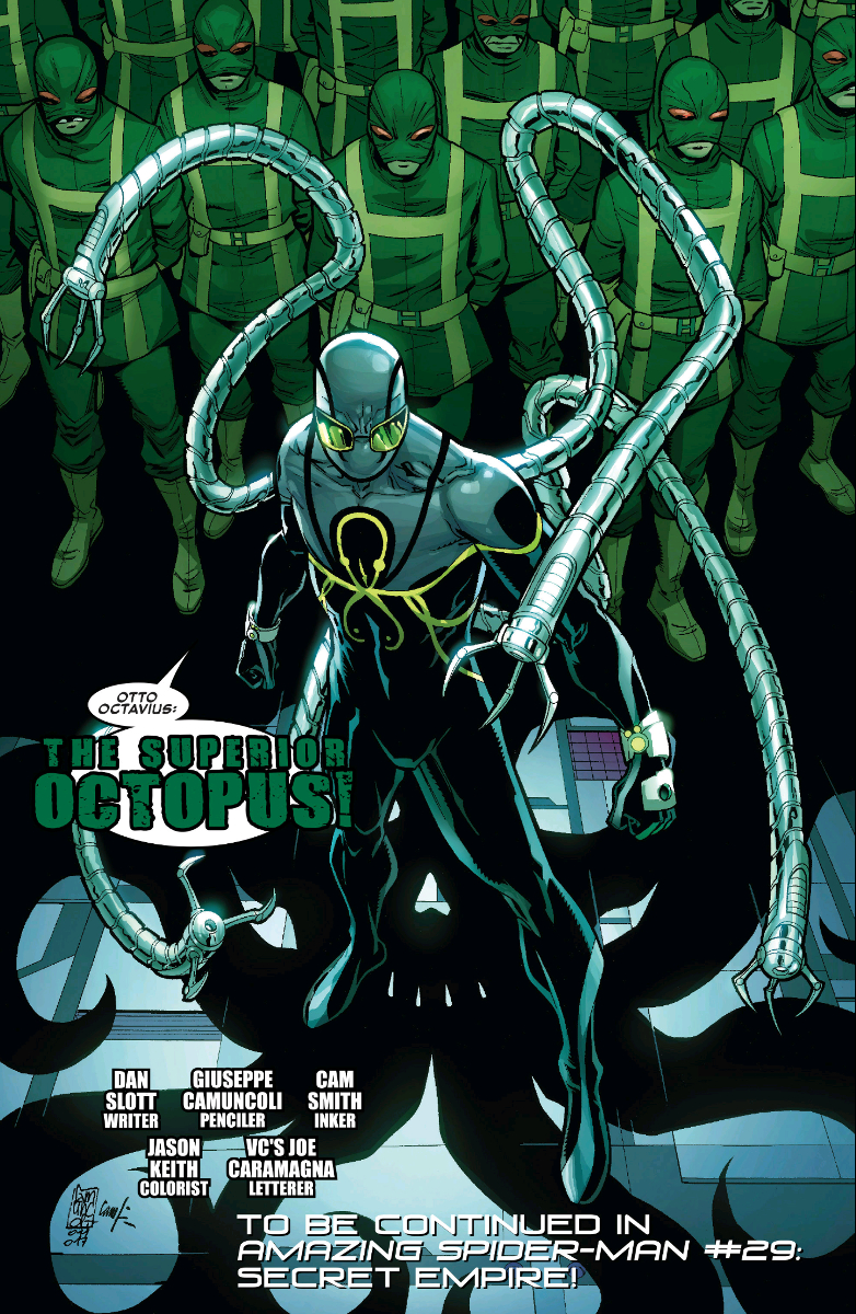 Doctor Octopus Gets A New Status Quo In Today's Amazing Spider-Man #25