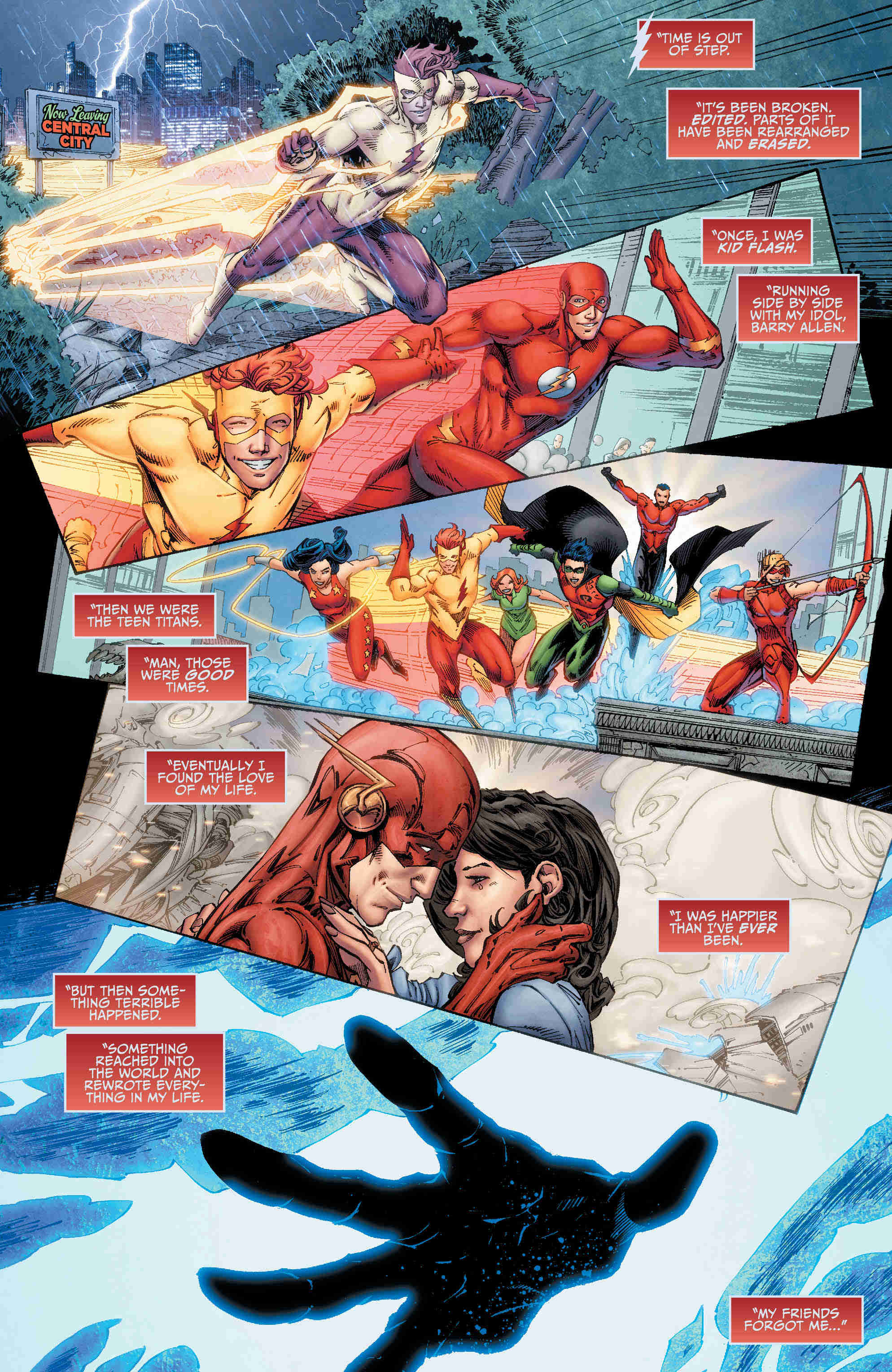 Relive The Return Of Wally West With Titans Vol. 1