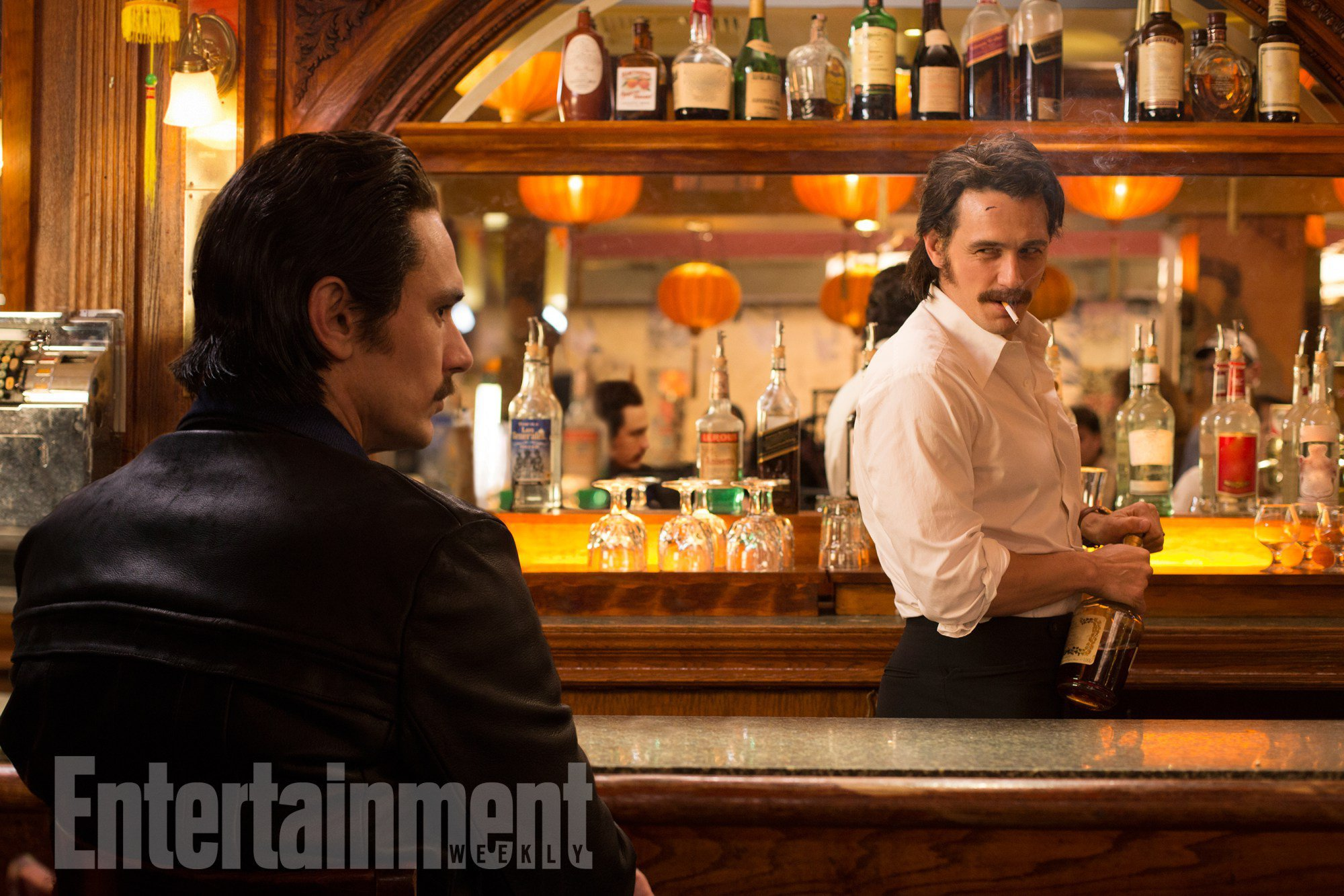 James Franco Meets James Franco In New Pics From The Deuce