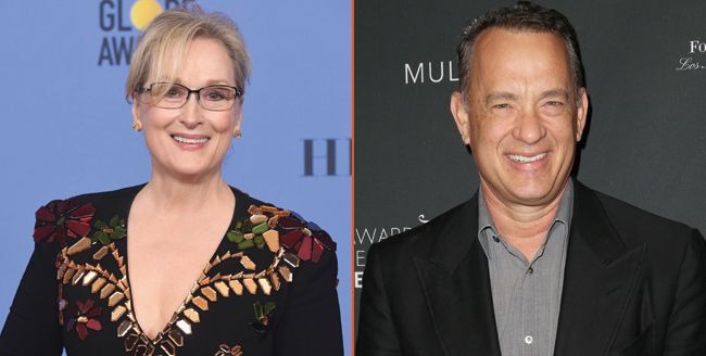 Tom Hanks, Meryl Streep to star in drama about Pentagon Papers