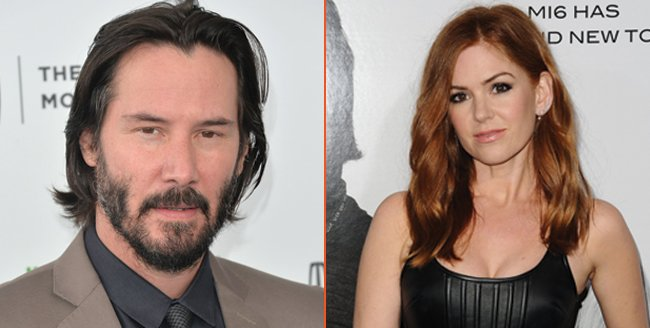 Isla Fisher And Keanu Reeves To Play A Married Couple For The Starling