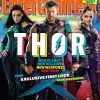 Thor: Ragnarok EW Cover Unveils First Official Peek At Hela And Valkyrie In Battle Gear