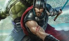 Latest Action Shot For Thor: Ragnarok Sees The Norse God Charge Into Battle