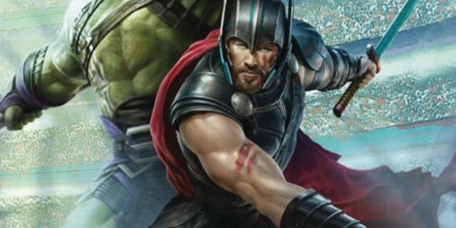 The God Of Thunder Enters The Arena In New Thor: Ragnarok Promo Art