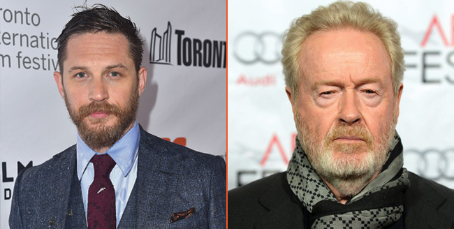Netflix To Stage A War Party With Tom Hardy, Andrew Dominik And Producer Ridley Scott