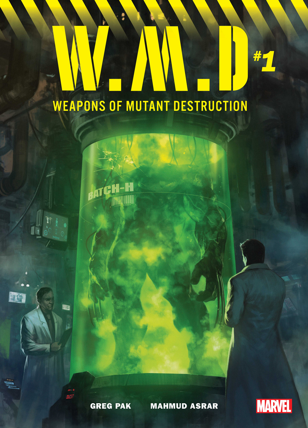 Weapons Of Mutant Destruction Is What That Hulk/Wolverine Hybrid Image Was Teasing