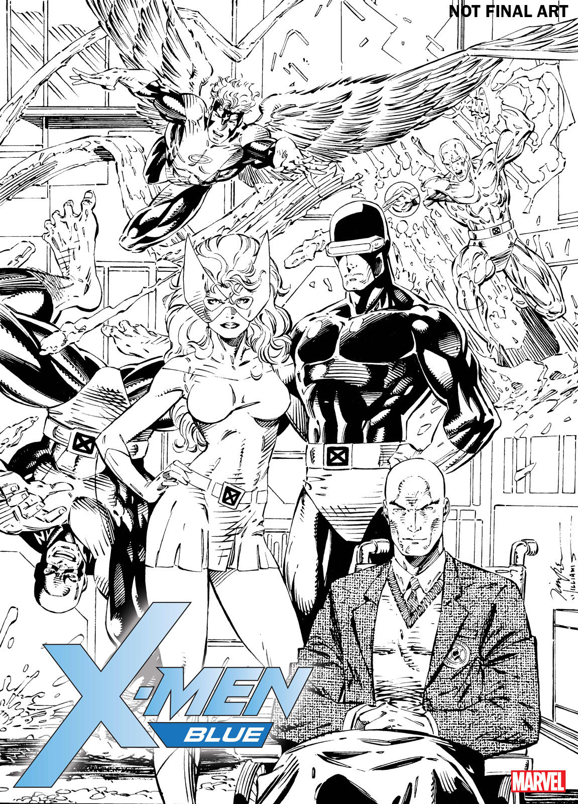 The Original Five Make Their Mark In X-Men Blue #1