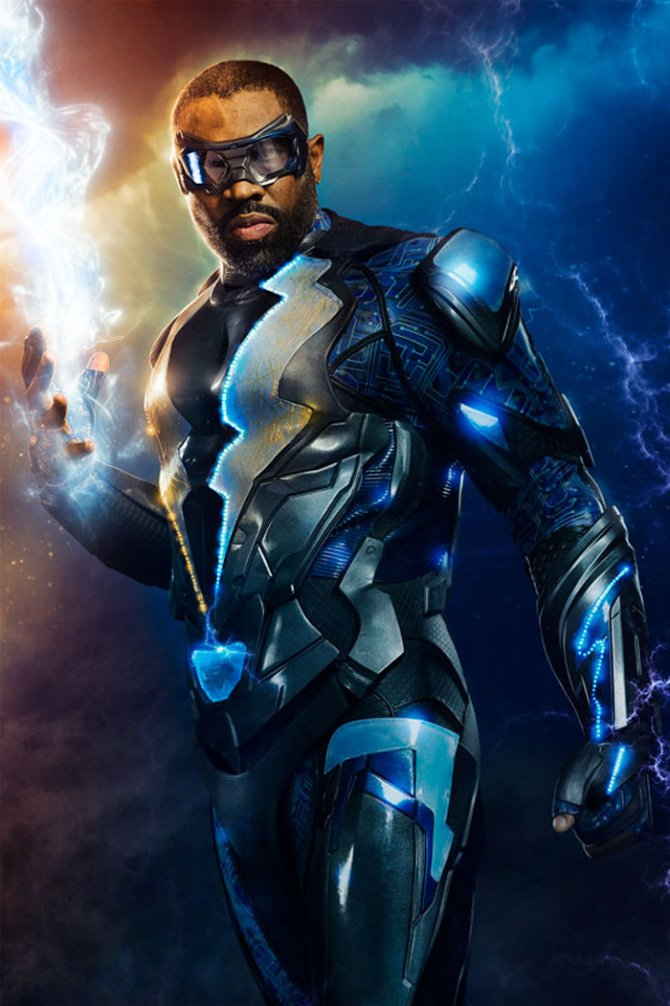 First Look At Cress Williams In The CW's Black Lightning