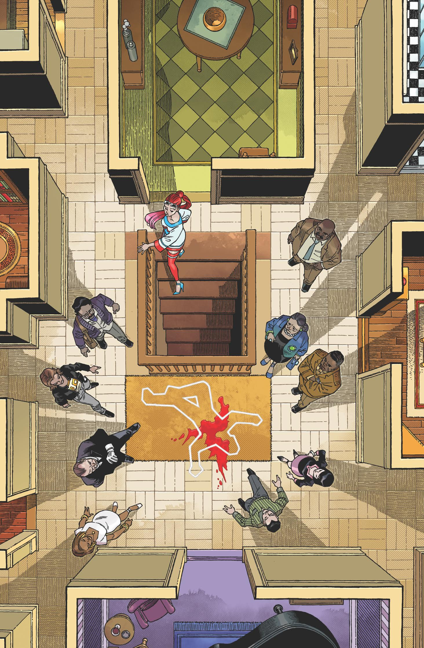 IDW Pulls The Trigger On Clue Miniseries