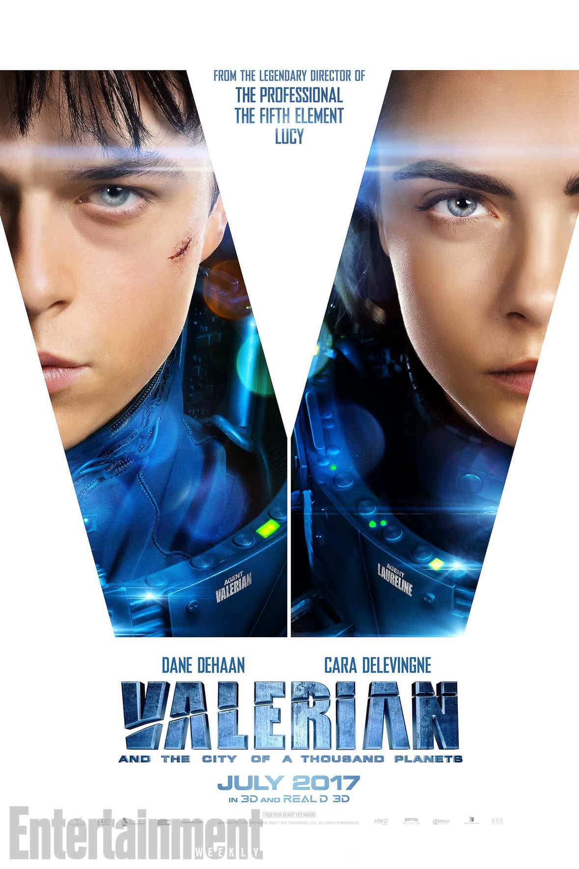 New Valerian Poster Released... And It's Kinda Boring