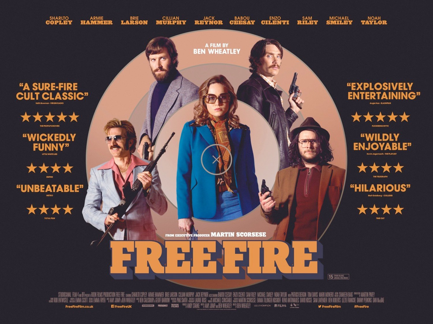 Free Fire Trailer: Ben Wheatley Orchestrates A Ballet Of Violence