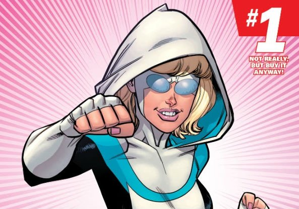 Gwen Stacy Can't Be Contained To Marvel As This Invincible April Fools Cover Proves