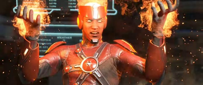 Firestorm Turns Up The Heat In The Latest Injustice 2 Trailer; In-Game Currency Detailed