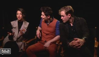 Exclusive Video Interview: Dacre Montgomery, Ludi Lin And Naomi Scott Talk Power Rangers