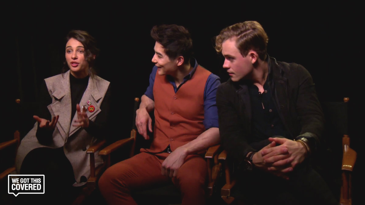 Exclusive Video Interview: Dacre Montgomery, Ludi Lin And